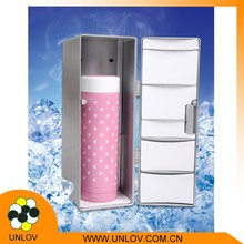 Table Top Freezer/Mini Fridge Suitable for Office/Small Refrigerator
