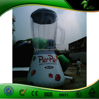 Juicer Shaped Inflatable Advertising Model / Outdoor Inflatable Bottle For Promotion