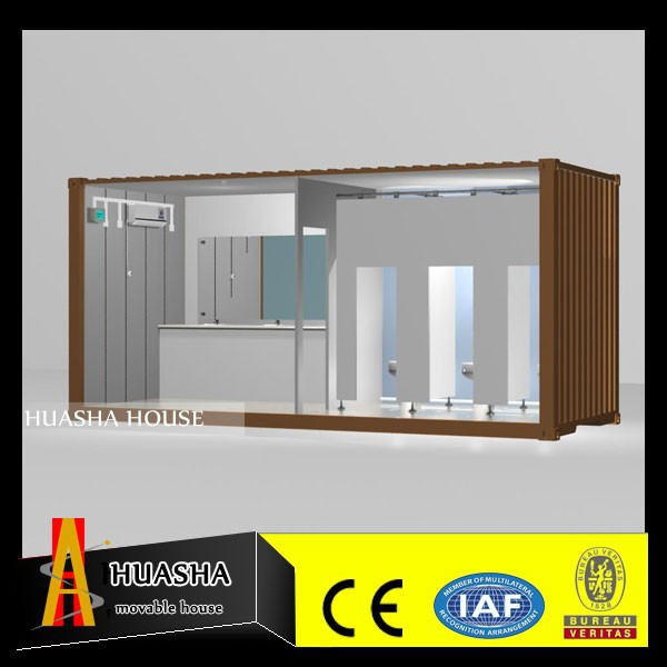 prefab modular outdoor /mobile public toilet/container house
