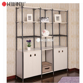 Home DIY Style Living Room Storage Wood Steel High Quality Modern Furniture