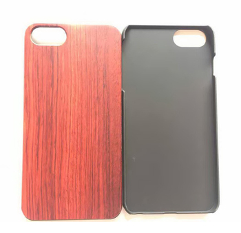 New laser engraving bamboo wooden pc tpu case for iphone 7 7 plus