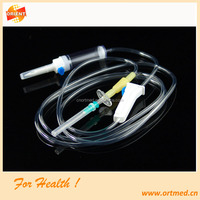 i.v. infusion giving set/medical infusion giving set