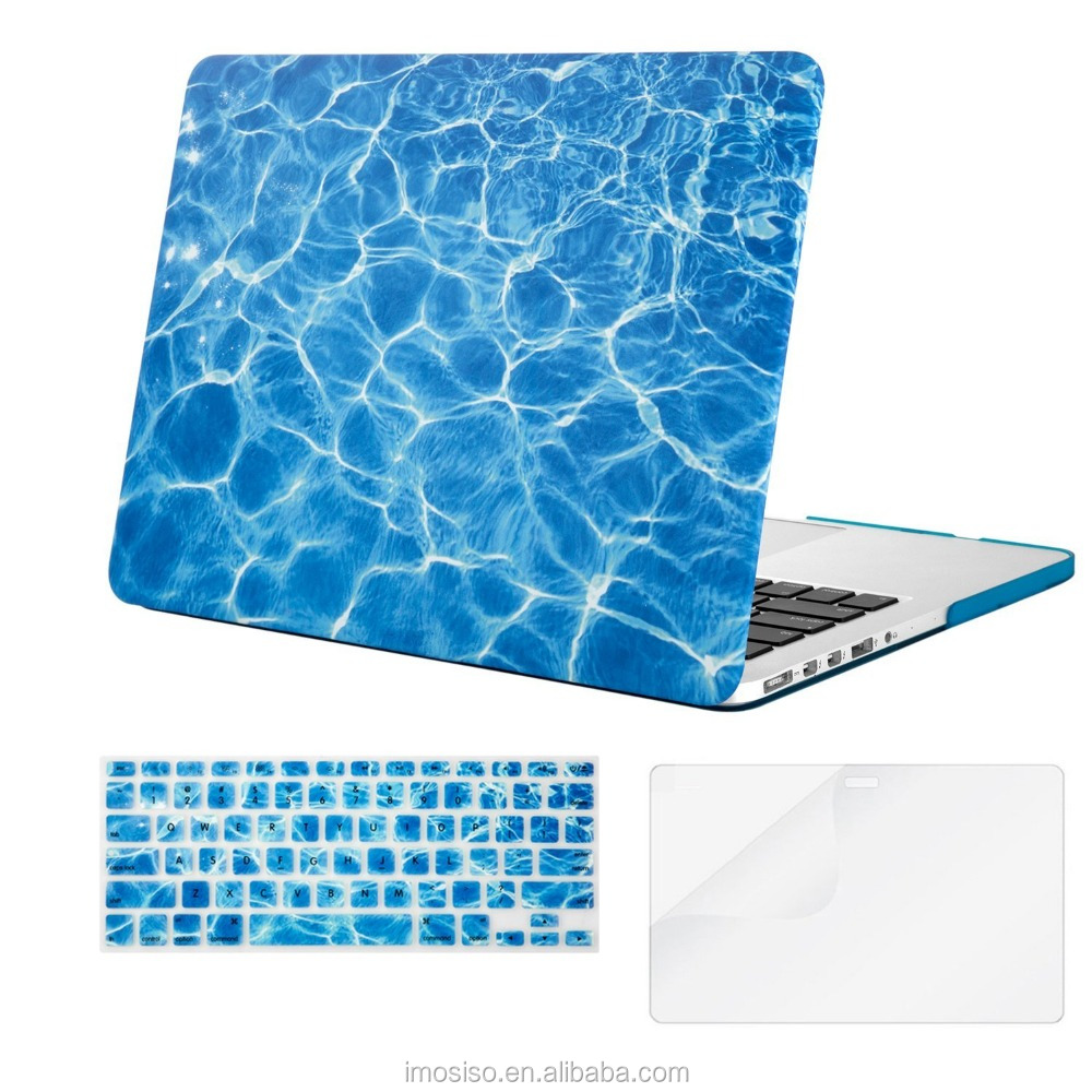 Water Painting Laptop Hard Case for Macbook Air 13, Mosiso Hard PC Plastic Laptop Case Cover Laptop Tablet PC Case Wholesale