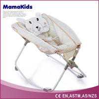 Baby bouncer rocking chair folding baby bouncer with baby sleeper