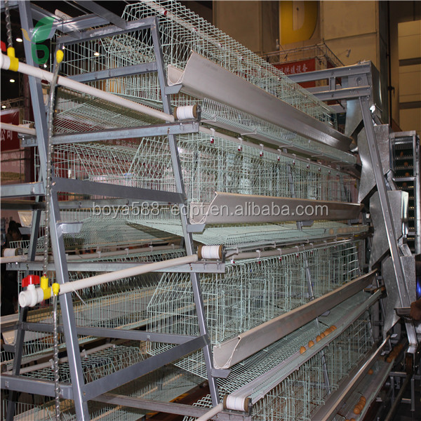 Poultry Farming Equipments-Egg Laying/Chiken Layer Poultry Cages