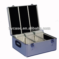 portable and durable practical aluminum cd storage case at reasonable price
