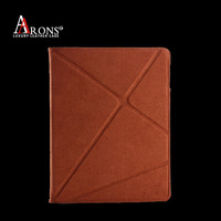 Genuine leather tablet sleeve pouch case for ipad 5