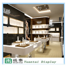 Factory price jewelry display desk and wall mounted case design