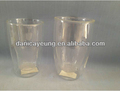 Wholesale double wall glass coffee cups in spanish