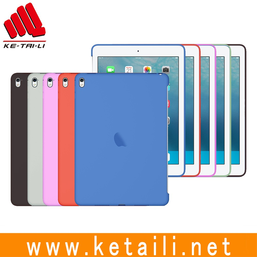 Different color custom case for ipad, custom silicone pc case for ipad pro