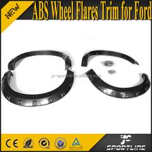 ABS F150 Black Front Fender Wheel Flares Trim for Ford F150 09-14