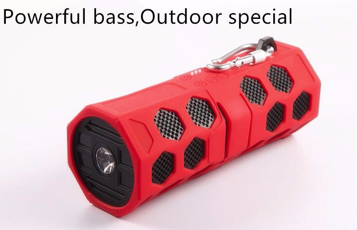 2017 waterproof bluetooth speaker of IPX7, shower speaker , swim partner, outdoor, ranny days, Big power speaker 10 watt