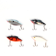 6.5cm 12g high quality double mustad hook hard plastic bait VIB lure