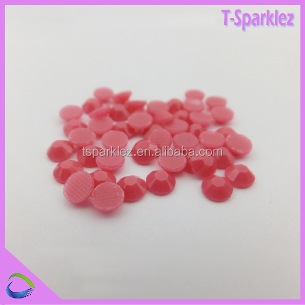 Nail art flat back resin stone for decorations