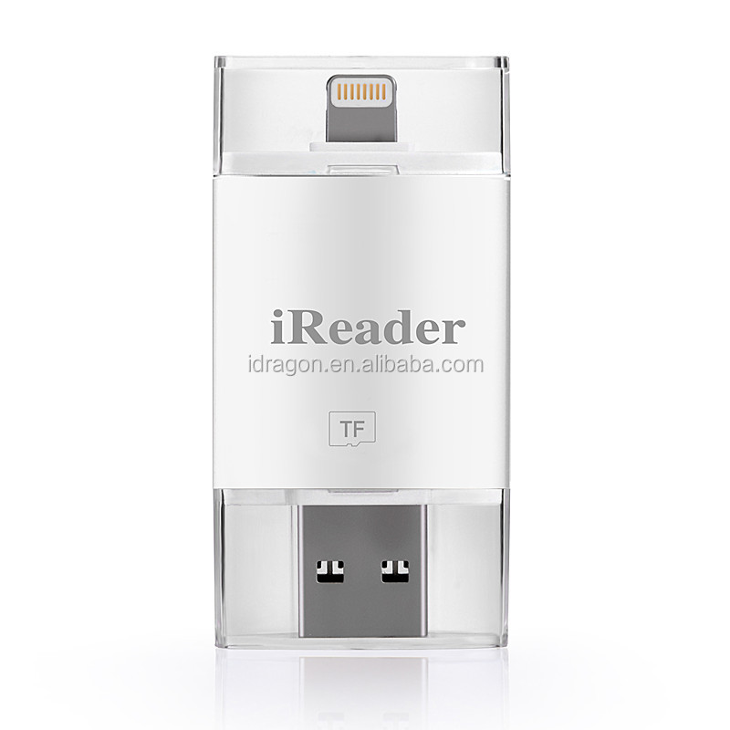 All-in-One External Card Reader With MicroSD Card