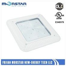 ultra thin led ceiling canopy light 130w ul dlc meanwell driver 5 years warranty