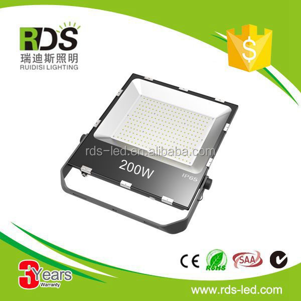 New product high quality rgb 200 watt outdoor lighting led flood light