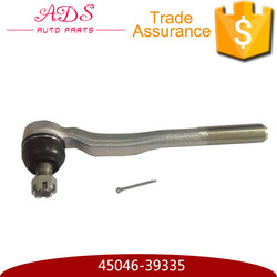 small stainless steel right tie rod end for LAND CRUISER 3400/2700 OEM:45046-39335