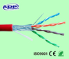 Certificated high speed FTP cat5e twisted lan cable