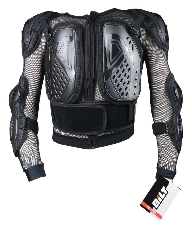 Jacket Spine Chest Protective Motorcross Racing Full Body Armor