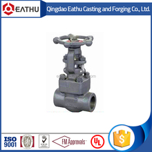 API 602 forged steel butt weld gate valve
