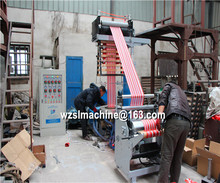 china in Plastic Three Layer Film Blowing Machine Price/Film Blow Mould Machine