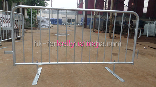 Haotian orange stage crowd barrier mojo barrier factory