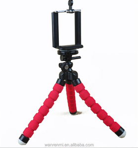 Mini Portable Flexible Sponge Octopus Tripod Bracket Stand Mount Monopod Phone Holder For Camera DSLR
