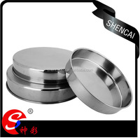 Wholesale Stainless Steel Serving Tray Round Plate