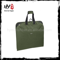 Fashion design non woven suit cover, visible nonwoven garment bag, nonwoven garment bag wholesale
