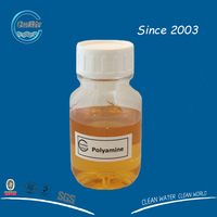 Cationic color fixing agent polyamine polydadmac