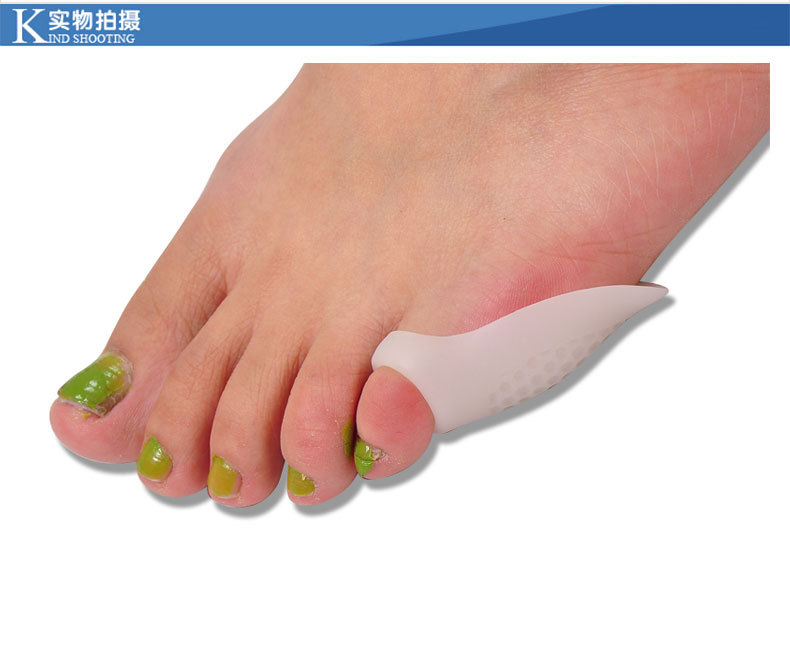 100% MO Gel Wholesale Toe Separator Spreader Bunion Guard