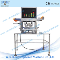 manual yogurt cup filling machine and sealing machine