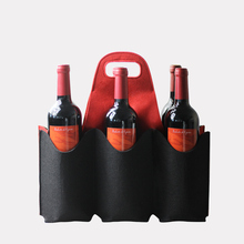 Wool Felt Beer Bottle Cooler Portable Stubby Insulated Wine Cover Bag