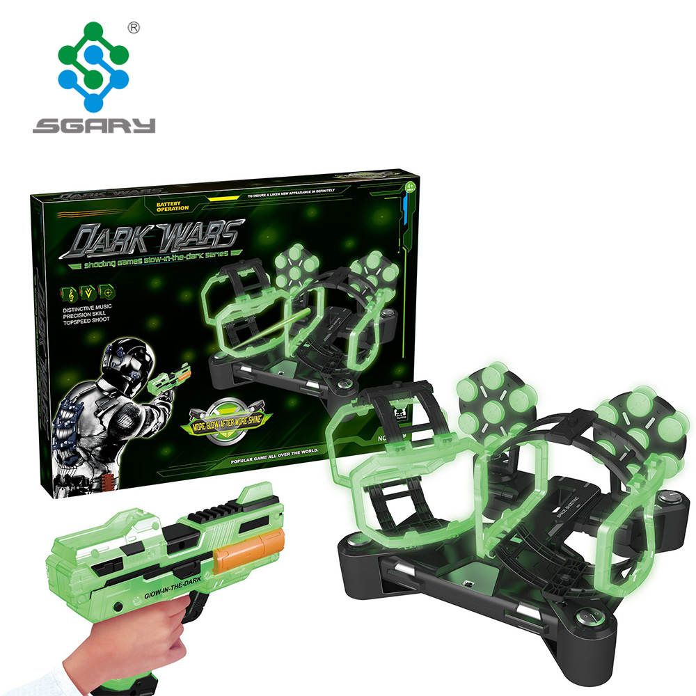 promotional kids weapon kids laser infrared shooting gun shooting game