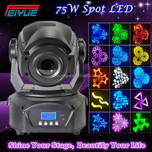 Pro Lighting Moving Heads China Disco Lights DMX 75W Spot LED Moving Head
