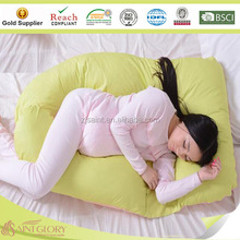 Removed u-Shape 100%polyester maternity polyeter adult cushion Pregnant pillow