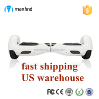 US warehouse samsung battery bluetooth hoverboard produced in guangdong china for sale
