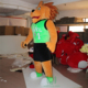 HI giant 3m lion dance costume new design inflatable mascot costume for sale