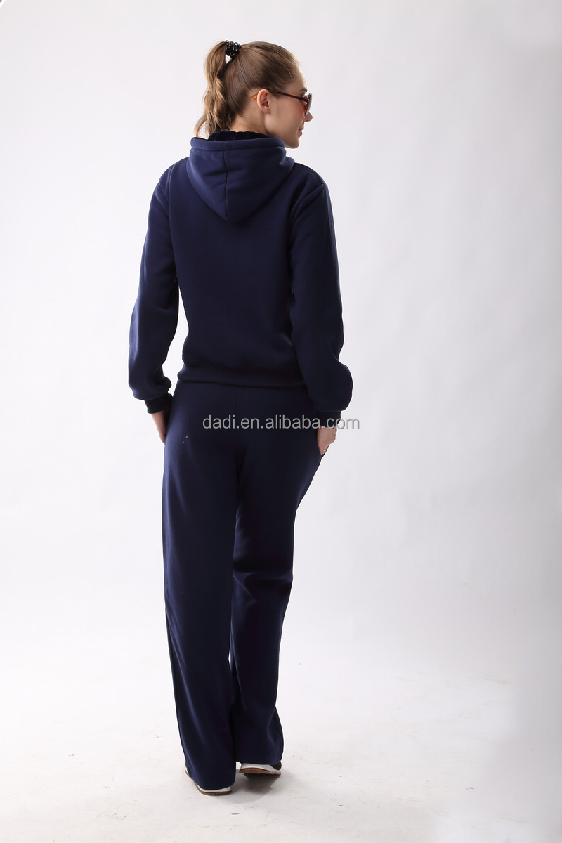 2015 Fashion Ladies Winte Cheap Plain Tracksuits