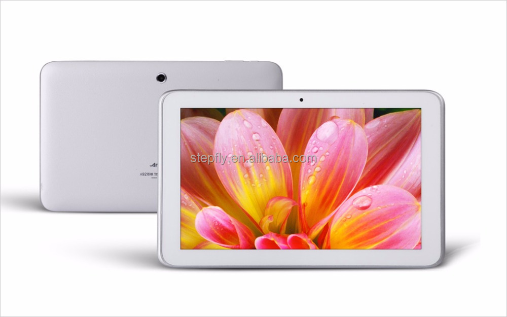 Original 9 Inch capacitive screen allwinner A33 quad core 8GB dual camera AMPE A92 quad core II tablet pc