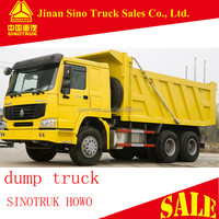 HOWO Brand 6x4 16CBM 10 Wheel dump truck heavy transport vehicle