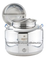 Stainless steel container 25lt