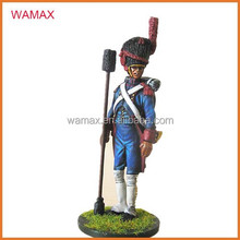 Hand-painted Soldier Figure French ArtIlleryman Miniature