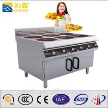 Hot sale Electric commercial stainless steel of 6 burner electric steamboat cooker