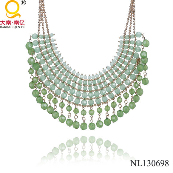 statement necklace costume jewelry spain