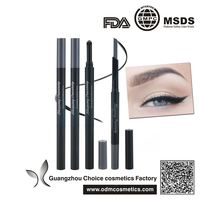 Waterproof Eyebrow Pencil Makeup Cosmetic Tool With Automatic Eye Brows Brush Long-lasting