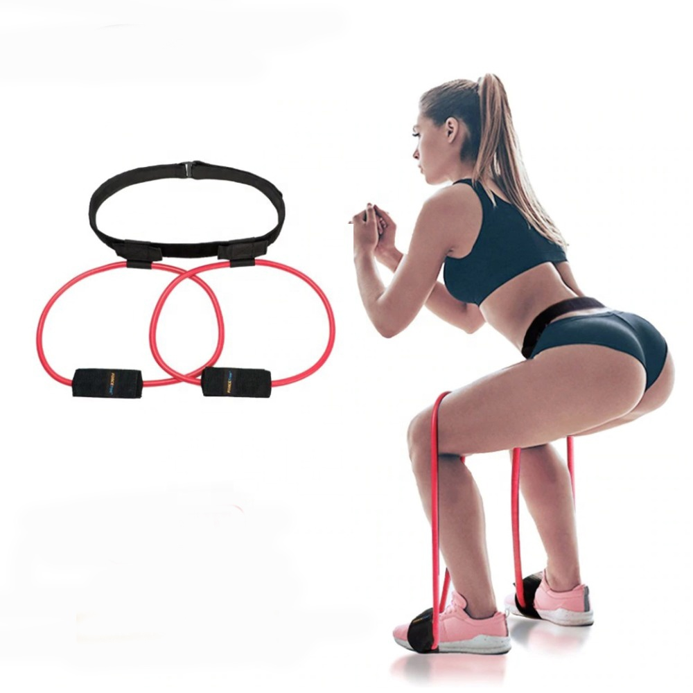 Adjustable Fitness Women Glutes Muscle Pedal Exerciser Booty Butt Band Hip <strong>Resistance</strong> Bands