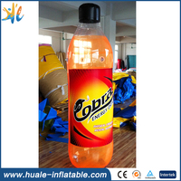 advertising inflatable promotional model bottle for sale