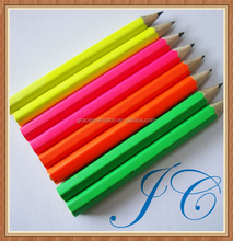High quality colorful cheap golf pencil for promotional gifts